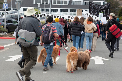 March to San Quentin Prison