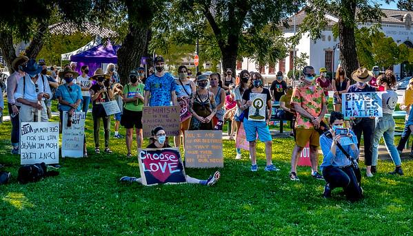 Women's March for Change Petaluma Bill Clark-28