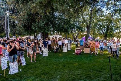 Women's March for Change Petaluma Bill Clark-21