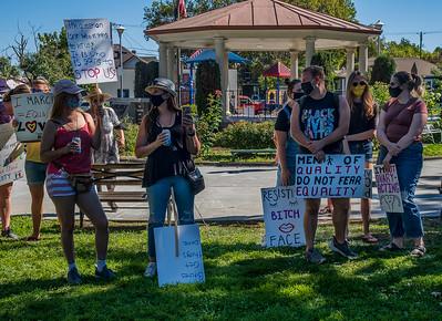 Women's March for Change Petaluma Bill Clark-12