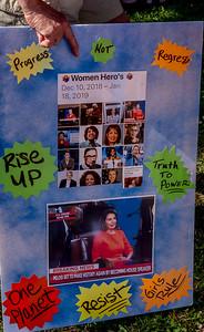 Women's March for Change Petaluma Bill Clark-19