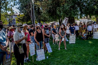 Women's March for Change Petaluma Bill Clark-22