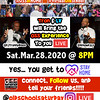 "🎶🎵� Since we all NEED TO STAY HOME, we are bringing OSS to YOU ::: Sat.Mar.28.2020 @ 8PM.<br /> 📲 Instagram LIVE ➜ @OldSchoolSaturday<br /> 📲 Facebook LIVE ➜ Old School Saturday - ""OSS"" Events<br /> ������ We all know that THE MUSIC has been the biggest draw to our events since 2003!!!! Thanks to TRON - @dJTronnyBlaze and LV - @iknowDJLV, we are BRINGING the MUSIC to YOU. Connect and Follow us on Instagram LIVE and Facebook LIVE at 8:00 PM EDT<br /> <br /> #OSSatHOME #VirtualOldSchool :::: #STAYhome #SAVElives #STOPtheSpread"