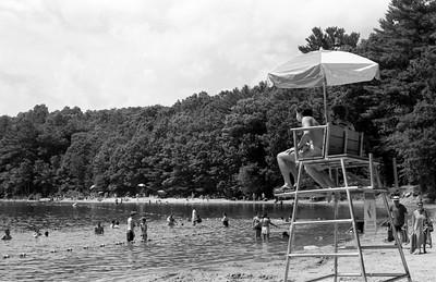 Walden Pond Beach