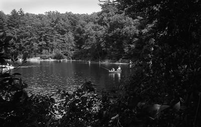 Fishing on Walden Pond