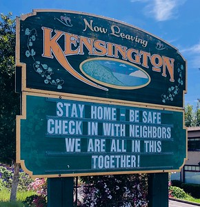 Welcome to Kensington  4 10 20 by Nancy Rubin