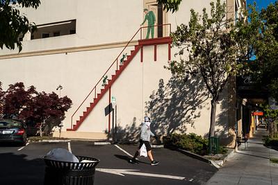 Teri Vershel, Palo Alto pandemic scenes