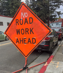Road Work Halted