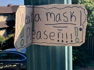 Neighborhood sign Berkeley Hills  by Nancy Rubin