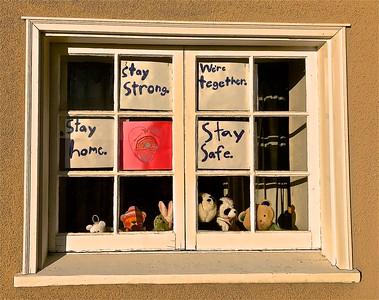 Stay strong Kensington CA 5 27 20 Nancy Rubin