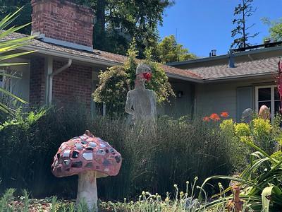 Masked statue 5 18 20 Nancy Rubin