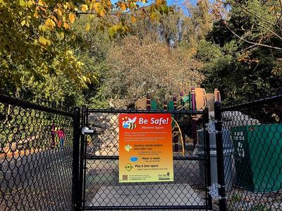 Playground reopens 11 21 20 Tilden Park Nancy Rubin