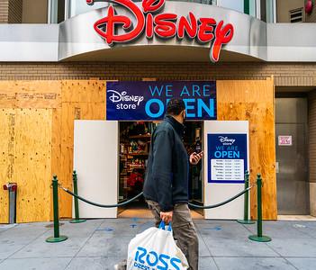Disney Boarded Up - ©Steve Disenhof 2020