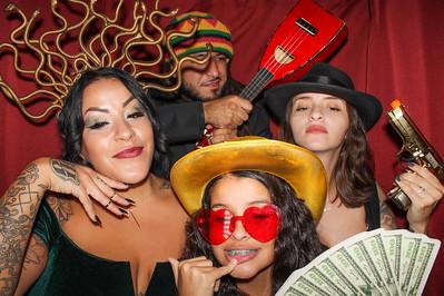 2020.10.31 - Anna and Brandon's Wedding Photo Booth, Laurel Oaks Country Club, Sarasota, FL
