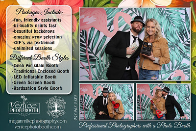 2021.01.10 - Lace and Luxe Bridal Expo Photo Booth at the Pavilion at Mixon Farms, Bradenton, FL