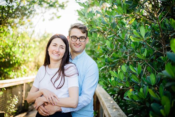 2020.01.05 - Dan & Christina Engagement Session, Spanish Point, Osprey, FL