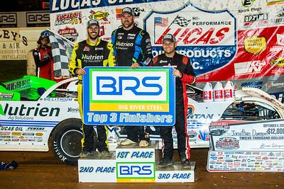 Billy Moyer, Jr. (L), Jonathan Davenport (C) and Mike Marlar (R)