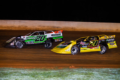Jimmy Owens (20) and Billy Moyer, Jr. (21JR)