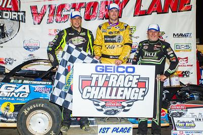 Kyle Strickler (L), Tim McCreadie (C) and Jimmy Owens (R)