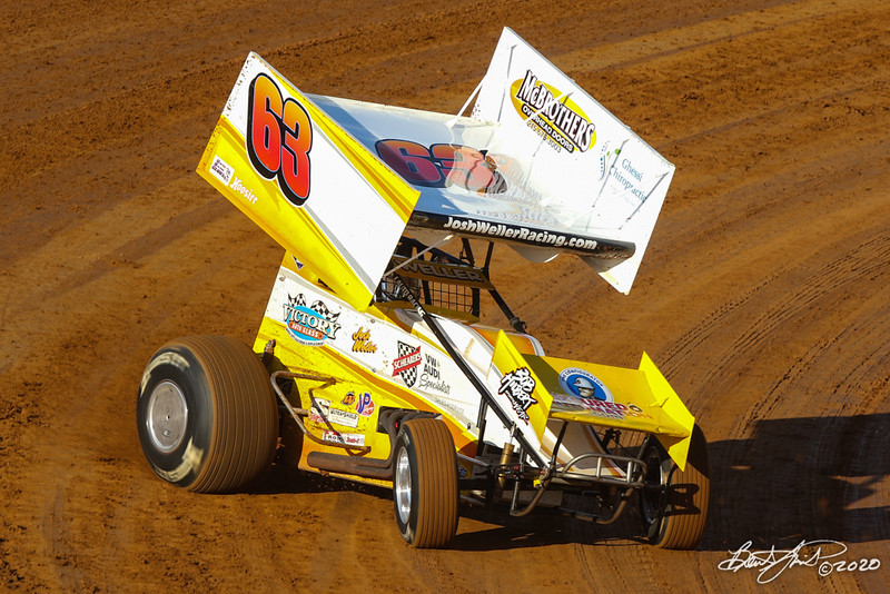 Pennsylvania Sprint Car Speedweek presented by Red Robin - Port Royal Speedway - 63 Josh Weller