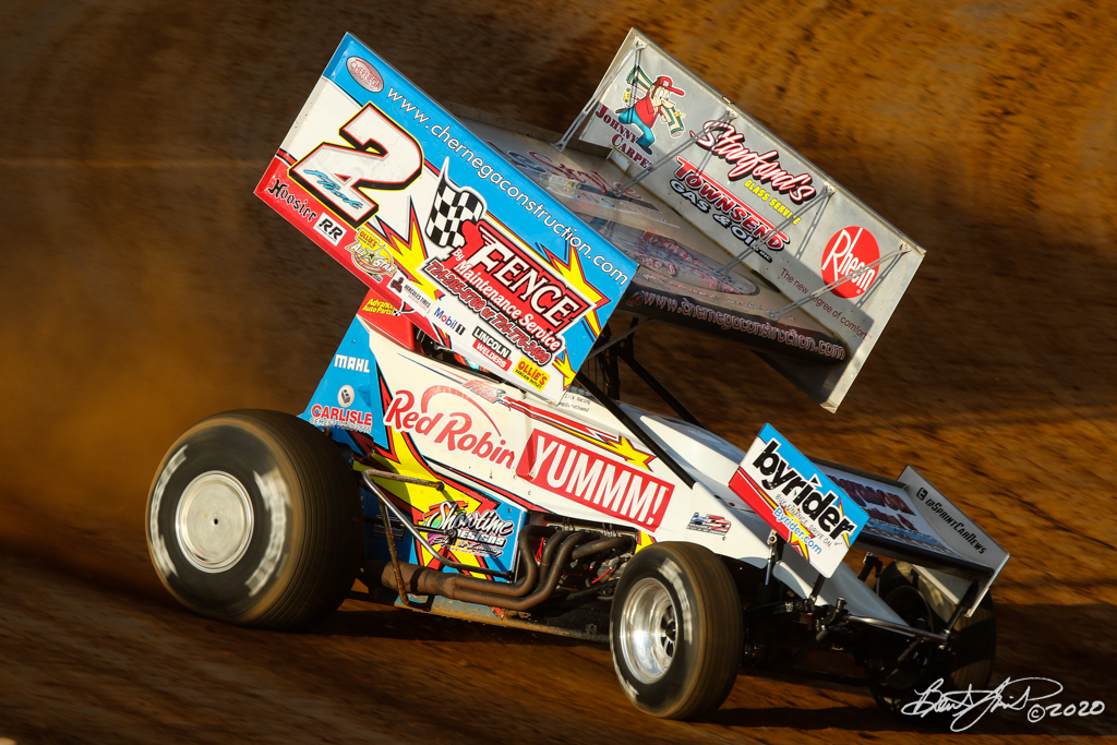 Pennsylvania Sprint Car Speedweek presented by Red Robin - Port Royal Speedway - 2 AJ Flick