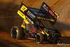 Pennsylvania Sprint Car Speedweek presented by Red Robin - Port Royal Speedway - 87 Aaron Reutzel
