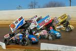 dirt track racing image - 2020 Opening Day - Port Royal Speedway - 2 AJ Flick, 15K Chad Kemenah, 98 Kyle Reinhardt