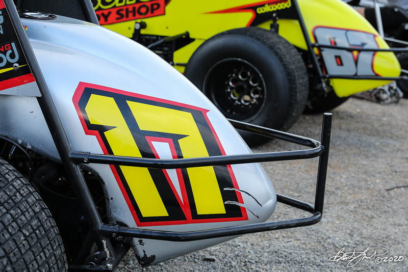 Ollie's Bargain Outlet All Star Circuit of Champions - Port Royal Speedway - 17 Ian Madsen