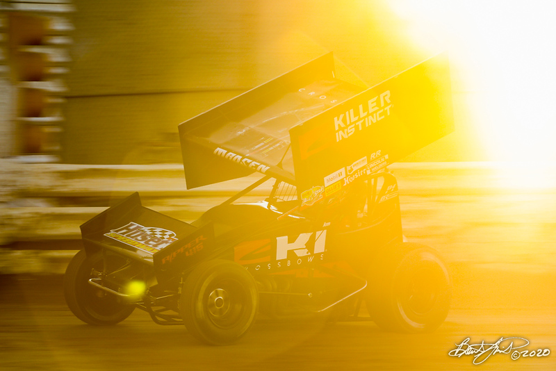 The Night Before the 50 - Ollie's Bargain Outlet All Star Circuit of Champions - Port Royal Speedway - 2M Kerry Madsen