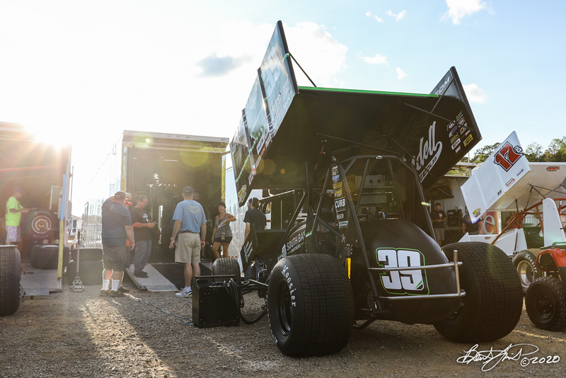 The Night Before the 50 - Ollie's Bargain Outlet All Star Circuit of Champions - Port Royal Speedway - 39 Spencer Bayston