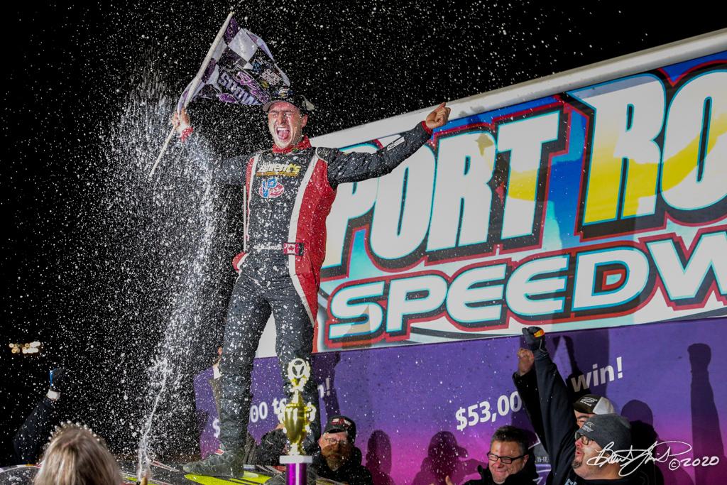 Speed Showcase 200 - Bob Hilbert Sportswear Short Track Super Series Fueled By Sunoco - Port Royal Speedway - 3 Mat Williamson