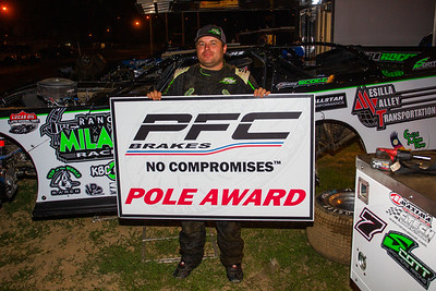 PFC Brakes Pole Award winner Stormy Scott