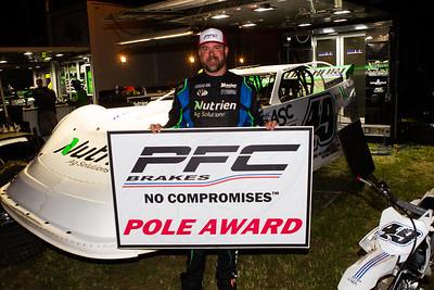 PFC Brakes Pole Award winner Jonathan Davenport