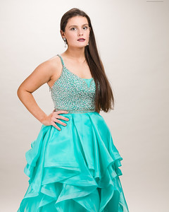 Teal Gown-4