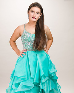 Teal Gown-3