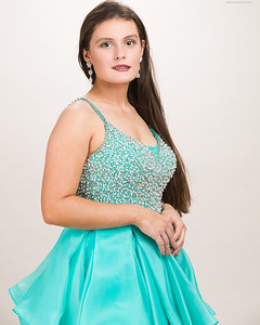 Teal Gown-27