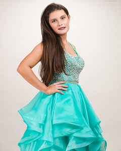 Teal Gown-21