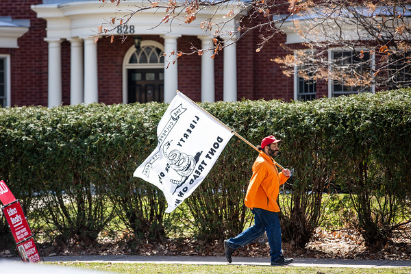 Reopen Minnesota Rally at Governor Walz's Residence