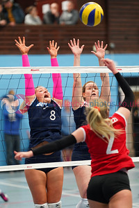 Su Ragazzi 0 v 3 City of Edinburgh (17, 18, 27), SVA Women's John Syer Grand Prix Final, Institute of Sport and Exercise, University of Dundee, Sun 9th Feb 2020. © Michael McConville https://www.volleyballphotos.co.uk/2020/SCO/Cups/JSGP/Women