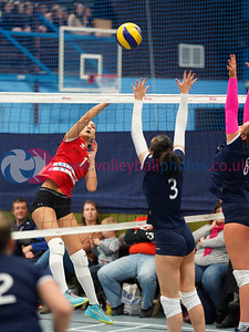 Su Ragazzi 0 v 3 City of Edinburgh (17, 18, 27), SVA Women's John Syer Grand Prix Final, Institute of Sport and Exercise, University of Dundee, Sun 9th Feb 2020. © Michael McConville https://www.volleyballphotos.co.uk/2020/SCO/Cups/JSGP/Women