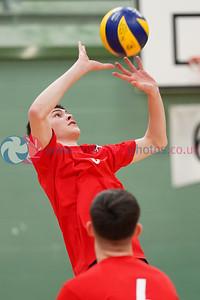 U18M Junior Scottish Volleyball League Round 5, ON-X Linwood, Sun 23rd Feb 2020. © Michael McConville