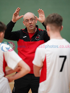U18M Junior Scottish Volleyball League Round 5, ON-X Linwood, Sun 23rd Feb 2020. © Michael McConville