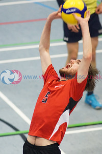 Heriot Watt University 3 v 1 University of Dundee (26-24, 21-25, 25-23, 30-28), SSS Men's Cup Final, Institute of Sport and Exercise, University of Dundee, Sun 9th Feb 2020. © Michael McConville https://www.volleyballphotos.co.uk/2020/SCO/SSS/2020-02-09-sss-mens-final