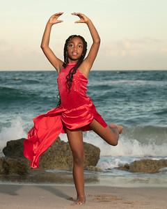 Sarah on Beach-5