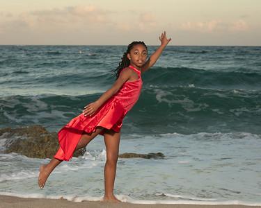 Sarah on Beach-25