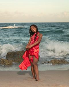 Sarah on Beach-4