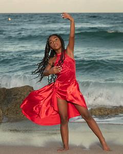 Sarah on Beach-2