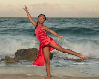 Sarah on Beach-26