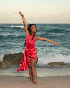 Sarah on Beach-3