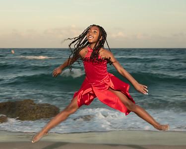 Sarah on Beach-8